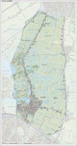 Topografische kaart van Landsmeer